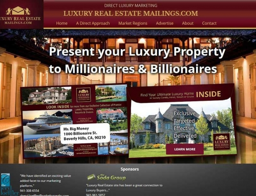 Luxury Real Estate Mailings